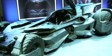 Erster Blick aufs neue Batmobil