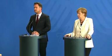 Merkel über die Griechenland Krise