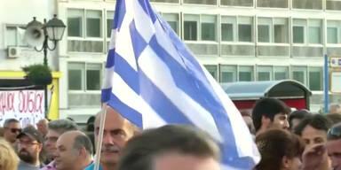 Demos: Griechen wollen nicht sparen
