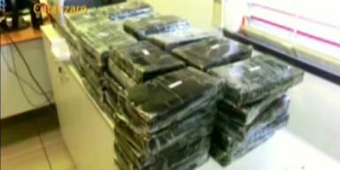 Polizei beschlagnahmt vier Tonnen Kokain
