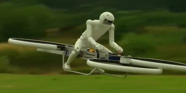 Hoverbikes als Helikopter-Ersatz