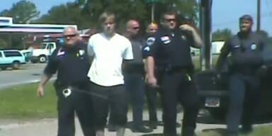 Video: Festnahme des Charleston-Täters