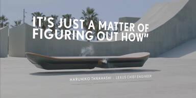 Hoverboard von Lexus schwebt wirklich