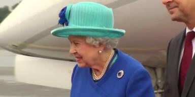 Queen Elizabeth II. ist in Berlin