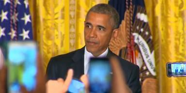 Obama bittet Störenfried zu gehen