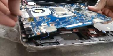 Grauenvolle Entdeckung im Laptop