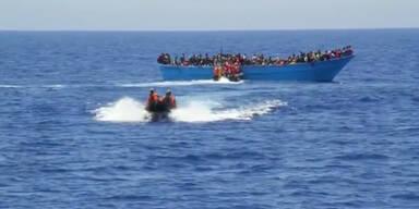 600 Flüchtlinge gerettet