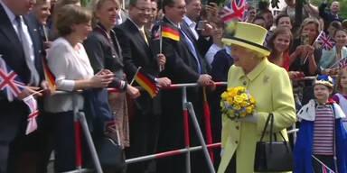 Queens letzter Tag in Deutschland