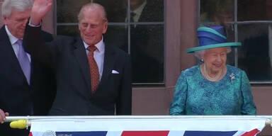 Queen besucht Frankfurt und Berlin