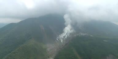 Japan: Berg Hakone spuckt wieder Asche
