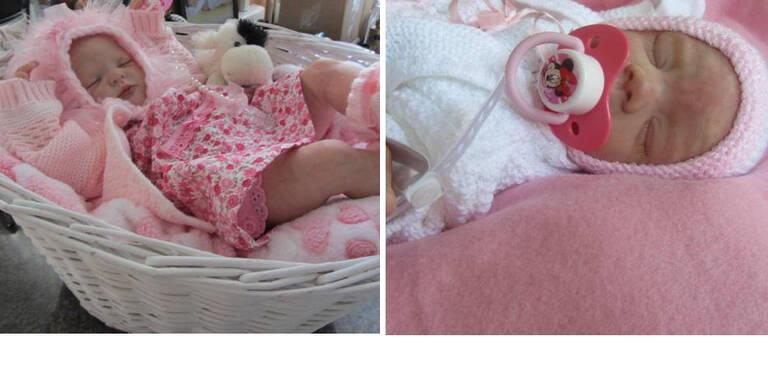 Britin bastelt Baby-Puppen für trauernde Eltern