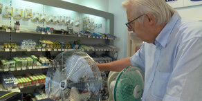 Hitze: Klimageräte ausverkauft