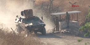 Türkei kämpft gegen IS