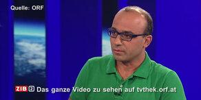ZiB2: Bewegender Flüchtlings-Auftritt