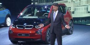 BMW-Chef Krüger: Kollaps bei der IAA