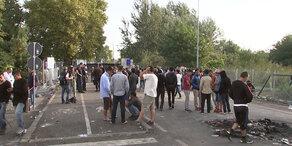 Flüchtlings-Eskalation: der Tag danach