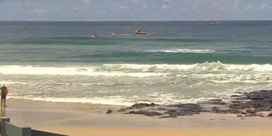 Hai tötet japanischen Surfer