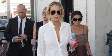 Lindsay Lohans Look nachgeshoppt