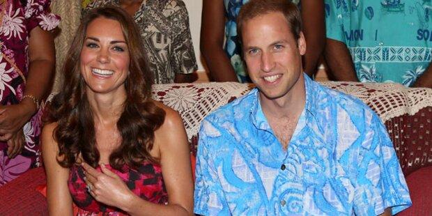 Kate & Will: Liebes-Trip auf die Malediven
