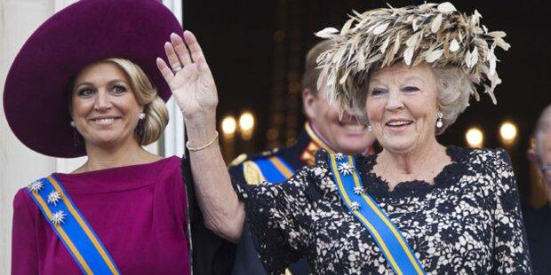 Wie viel Beatrix steckt in Máxima?