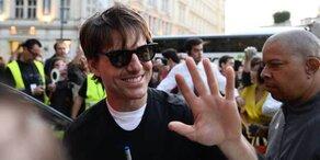 Tom Cruise: Sein 1. Wien-Tag