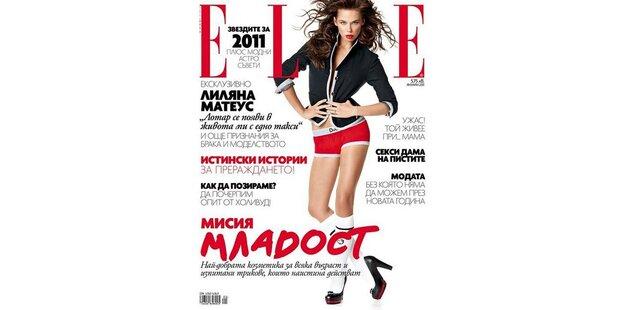 Liliana schafft es aufs Elle-Cover
