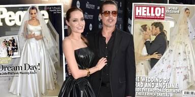 So traumhaft war Jolies & Pitts Hochzeit!
