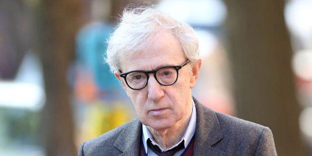 Woody Allen findet sich faul