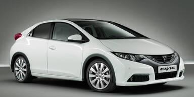 So scharf sieht der neue Honda Civic aus