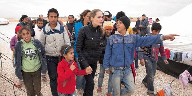Eine Million Kinder auf der Flucht