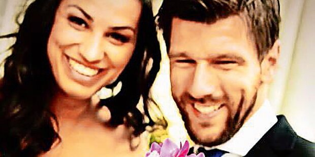 Melzer: Erstes Hochzeitsbild