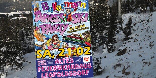Après Ski in Leopoldsdorf