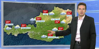 Das Wetterupdate: Weiterhin regnerisch