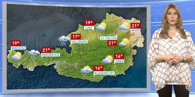 Das Wetterupdate: Regen und gewittrige Schauer