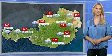 Wetterupdate: Verbreitet trüb mit Regen