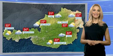 Wetterupdate: Meist sonnig, harmlose Quellwolken