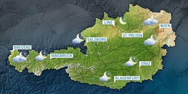 Das Wetterupdate: Wechselnd bewölkt, im Westen regnerisch