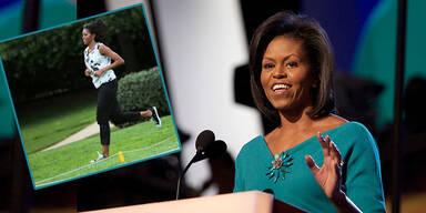 Michelle Obama: Fitness um 6 Uhr in der Früh