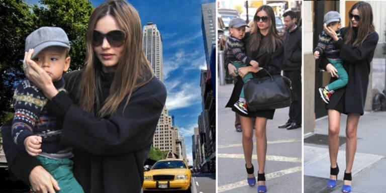 Shopping-Ausflug mit Söhnchen Flynn
