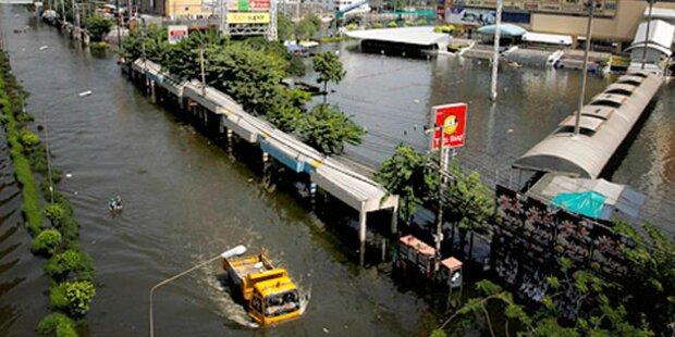 Schlimmstes Hochwasser in Burma