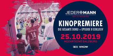 FC Red Bull Salzburg-Doku im Mozartkino