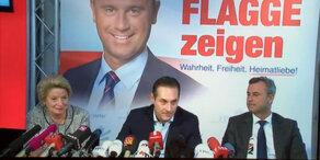 Strache präsentiert FPÖ-Kandidaten