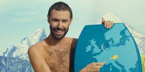 Britische Werbung verspottet Österreich