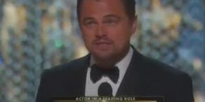 Leonardo DiCaprios rührende Dankesrede