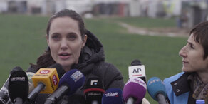Angelina Jolie spricht über die Flüchtlingskrise