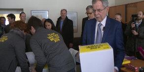 Hofburg-Kandidaten reichen Unterstützungen ein