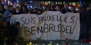 Je suis Bruxelles - Anteilnahme in Europa