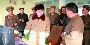 Nordkoreas Raketentest gescheitert