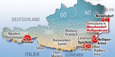 Schlepper: Kurs auf Österreich
