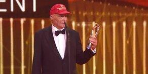 Lauda erhielt Laureus-Award für Lebenswerk
